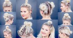 10 Different Bun Short #Hairstyles | Milabu