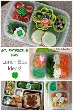 Gluten Free & Allergy Friendly: Lunch Made Easy: St. Patrick's Day Ideas!