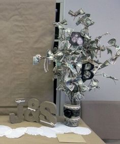 Bridal Shower Money Tree turned out pretty good!