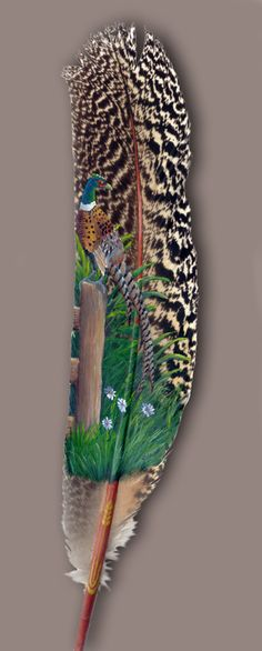 Painting on Feathers Art « Hebron Book Blog  www.facebook.com/loveswish