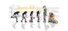 """Did you see today's Google logo? Drawn by a high school senior remembering her """"Best Day Ever"""""""