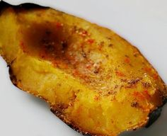 Cocoa Roasted Butternut Squash...substituted oil w Coconut Oil