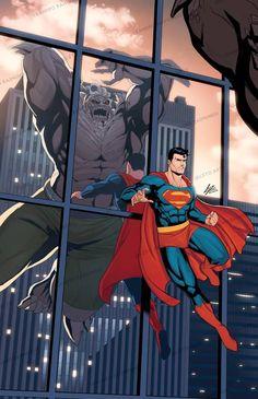 Superman Artwork, Superman Comic, Batman, Superman Wallpaper, Dc Comics Superheroes, Dc Comics Art, Alex Ross, Superman Doomsday, Steel Dc Comics