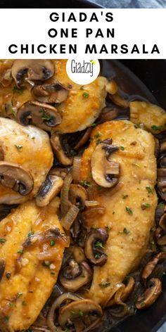 Giada Recipes, Dinner Recipes, Cooking Recipes, Healthy Recipes, Entree Recipes, Italian Dishes, Italian Recipes, Italian Cooking, Turkey Recipes