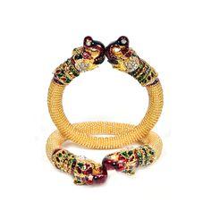 Chid Mor Kadas In Golden Colour Bangles on Shimply.com