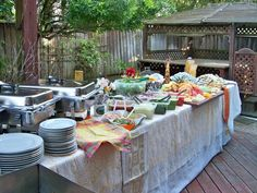 Buffet Table Ideas Entertaining