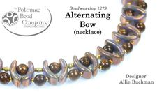 Alternating Bow Necklace (DIY Jewelry Tutorial)