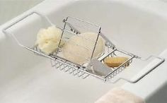 BATHTUB CADDY bath tub tray BOOK HOLDER Complete SPA gift set #spon #followitfindit