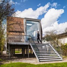Design Hub - блог о дизайне интерьера и архитектуре: Дом на берегу Темзы в Англии