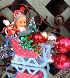 Vintage Inspired Christmas WhImSy & SwEeT by saturdayfinds on Etsy
