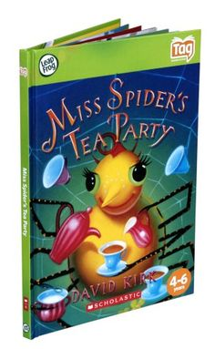 both boys: Amazon.com: Leapfrog Tag Activity Storybook Miss Spider's Tea Party: Toys & Games