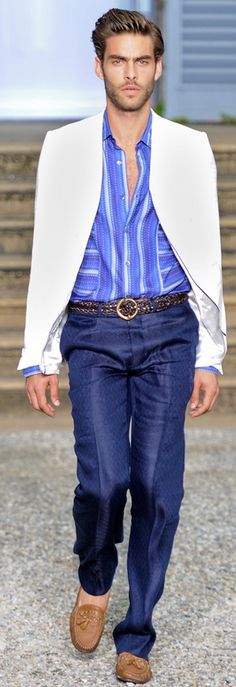 Roberto Cavalli | Men's Outfit for Spring/Summer | Men's Fashion & Style. Shop Menswear, Men's Clothes, Men's Apparel & Accessories at designerclothingfans.com