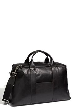 Jack Spade 'Wayne' Leather Duffel Bag available at Nordstrom #fashion & #style