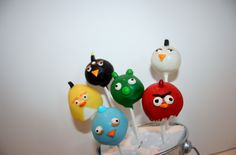 Angry Birds by Faye's Cake Pops