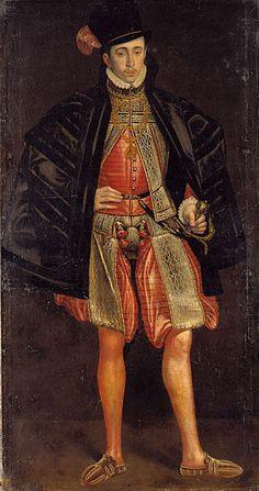 Count Palatine Karl I. of Zweibrücken-Birkenfeld (1560-1600). **no date or artist