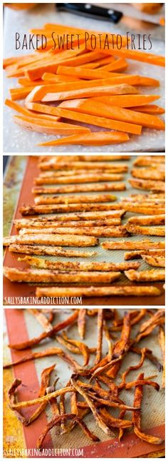 How to make Crispy Sweet Potato Fries. Simple, healthy, and the perfect side dish.
