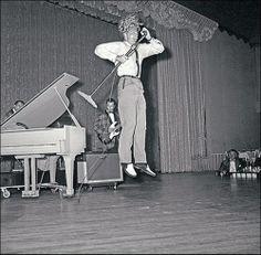 Jerry Lee Lewis. He was so exuberant! lol.