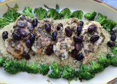 Tuscan Chicken With Lemon, Olives, & Herbs | Foodie Goes Healthy