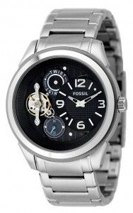 Un Fossil interesant. Fossil Watches, Wrist Watches, Stainless Steel Bracelet, Casio Watch, Cutaway, Mineral, Window, Strong, Accessories
