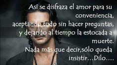Ricardo Arjona - Fuiste tú (Letra)
