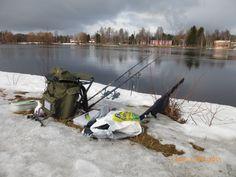 Cold April day on Oulujoki