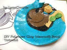 LynzCraftz : DIY Polymer Clay Mermaid Bowl tutorial