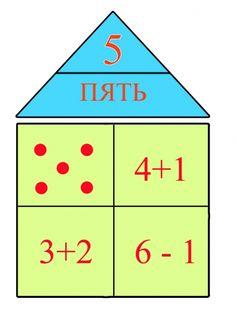 Дидактические игры «Математические домики». Воспитателям детских садов, школьным учителям и педагогам - Маам.ру