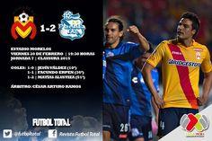 Puebla derrota dos a uno al equipo de morelia,agudizando con ello la crisis que ya viven.