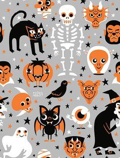 Halloween Available at Society6. © Greg Abbott Created (YMD) 2012-10-19.
