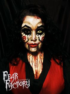 'Want to play a game' this Halloween 2019 Halloween 2019, Halloween Costumes, Fear Factory, Halloween Face Makeup, Play, Game, Halloween Costumes Uk, Gaming, Toy