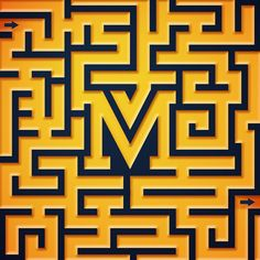 #M is for Maze... and Maize  #36daysoftype #36days_m @36daysoftype by drturkelton