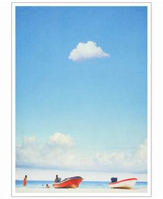 Mexico Beach of Mina Teslaru now on JUNIQE!
