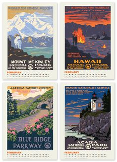 WPA National Parks Posters I have 3 Denali Park Posters for the boys room, but I would love to have more!