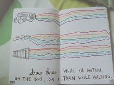 keri smith wreck this journal ideas | keri smith # wreck this journal # journal # rainbow 1 year ago ...