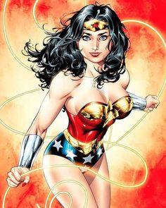 Wonder Woman by Art Thibert  #wonderwoman #wonderwomanday #comics #comicbooks #dc #dccomics