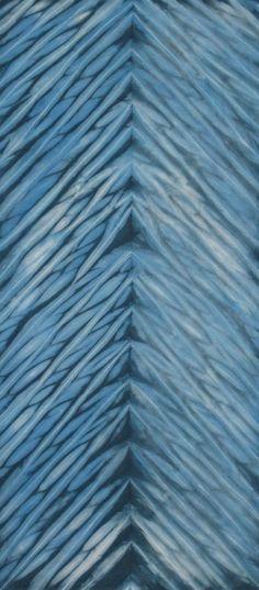 Hand Dyed Shibori Fabric Ashibetsu One Half Yard by vickiwelsh, $15.00