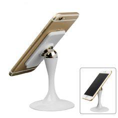 [$2.99] 360 ° Rotatable Magnetic Car Phone Holder (Colour: White)