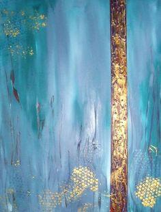 Acrylmalerei abstrakt, Figuren Teil2 Abstract acrylic painting Figures...