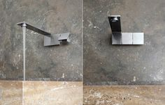 5mm: brushed stainless steel washbasin mixer Fascinating minimalist collection