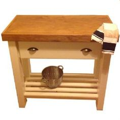 1000+ images about Butcher's Blocks on Pinterest Kitchen trolley, Butcher blocks and Solid ...