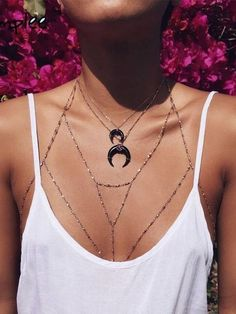 Boho chain, body chain, Coachella style, Coachella accessories, Coachella fashion, Coachella jewelry