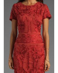 Antik batik Baila Dress in Red (coral) | Lyst