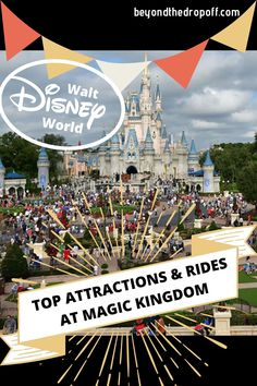 From the thrill rides to the classics, we're sharing our top Magic Kingdom rides and attractions. Disney On A Budget, Disney World Vacation Planning, Walt Disney World Vacations, Disney Resorts, Disney Planning, Family Vacations, Cruise Vacation, Trip Planning, Family Travel