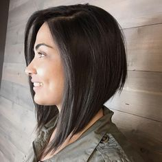 Most Wanted Angled Bob Hairstyles 2019 for Women to Mesmerize Anyone – Hair Styles Inverted Bob Hairstyles, Medium Bob Hairstyles, Straight Hairstyles, Latest Hairstyles, Hairstyles 2018, Celebrity Hairstyles, Womens Bob Hairstyles, Wedding Hairstyles, Work Hairstyles