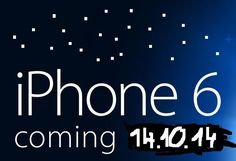 Release date of iphone 6 change to 14.10.2014