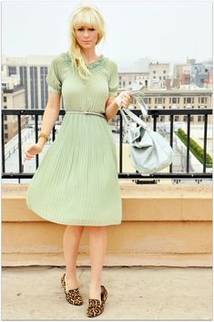 I think the shoes are dumb, but looove this dress. I think it would look so cute with a red lip :)