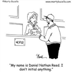My name is Daniel Nathan Reed...