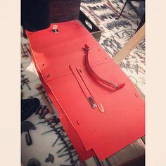 This is what a #hermes #Kelly #bag looks like before it becomes a Kelly Bag #kellybag #epsom #festivaldesmétiers #saatchi #saatchigallery #amazing #dayout #instafashion #fashion #fashiongram #fashiondesign #hermesbag #birkin #sellier #hermescraftsman #craftsman #leather #palladium #photooftheday #creative #artistic #rendezvous #craftspeople #london #paris #londonfashion #hermeskellybag #Padgram