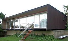 arne jacobsen summer house for kokfelt