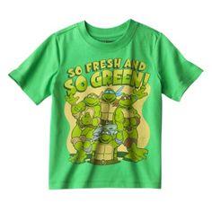 Infant Toddler Boys' Teenage Mutant Ninja Turtles Tee - Green $8